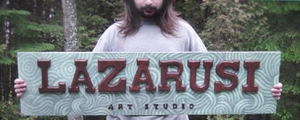 Lazarusi Studio Sign